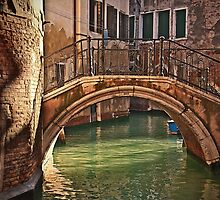 Venice - bridge by Luisa Fumi