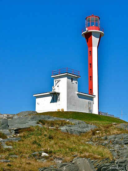 Cape Forchu Lightstation by David Davies