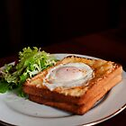 Croque Madame by Skye Hohmann