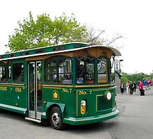 Trolley Car  by Ali Brown