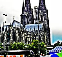 At the Cologne Cathedral  by TCL-Cologne