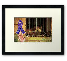Protect your Friends Framed Print