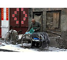 Ping Yao - Go to work. Photographic Print