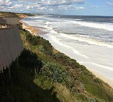 Foamy Logans beach IIII by Britt-Astrid