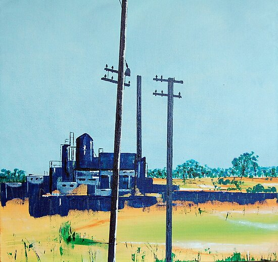Patea Freezing Works: On the grid by Cath Sheard