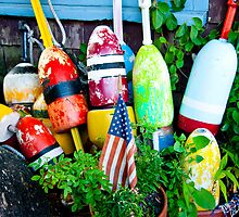 Retired Buoys by phil decocco