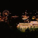 The Fair At Night by AuntieJ
