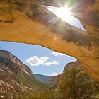 Sand Canyon Arch 2 by Kim Barton