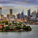 Skyline - Sydney, New South Wales, Australia by Mark Richards
