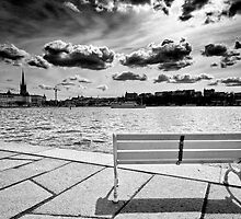 Sitting on the Dock of the Bay by Gianluca Nuzzo