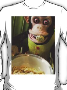 Musical Jolly Chimp Enjoys His Cereal T-Shirt