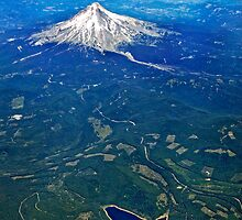 Mount Hood by Claudia Kuhn