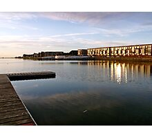 West Kirby, sunset Photographic Print