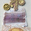 collage of embroidery and oddments by linsads