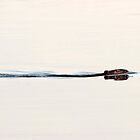 A Beaver on a Calm Lake by Don Arsenault