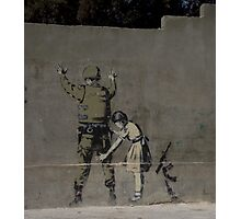 Banksy - The West Bank Photographic Print