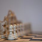 Depth of Field in a Game of Chess by Don Arsenault