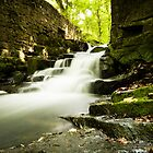 Derbyshire Waterfall by Squance