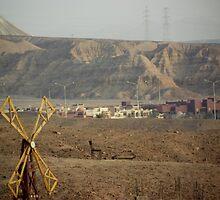 Jordan and Saudi Arabia Border  by Shannon Friel