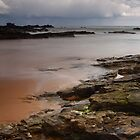 stormy skies, forvie sands (2) by codaimages
