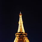 Golden Point - Eiffel Tower, Paris by 77degrees