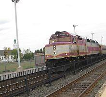 1058 MBTA Commuter Rail by Eric Sanford
