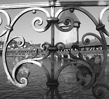 Bridge NOT over troubled waters - Lucerne, Switzerland by BlackhawkRogue