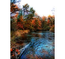 Autumn Reflection In Bear Creek Photographic Print