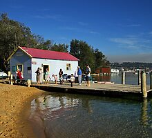 Mitchies Jetty at Merimbula by Darren Stones