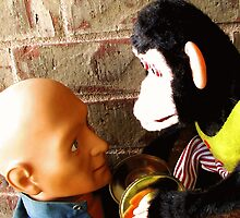 dead-staring contest by Margaret Bryant