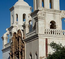 San Xavier Mission by Angela Pritchard