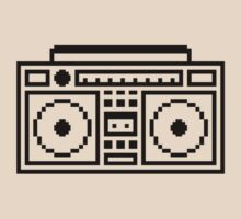 Retro Ghettoblaster by no-doubt