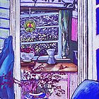 view to the kitchen -station st by maria paterson