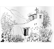 Chapel at DeGrazia's Gallery in the Sun Poster