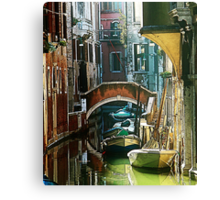 Venice - timeless perspective-particular Canvas Print