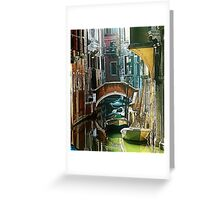 Venice - timeless perspective-particular Greeting Card