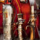 Fireman - Fighting Fires  by Mike  Savad