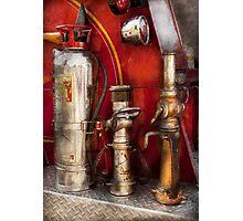 Fireman - Fighting Fires  Photographic Print