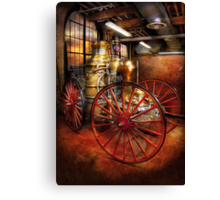 Fireman - One day, a long time ago  Canvas Print