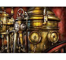 Fireman - The Steam Boiler  Photographic Print