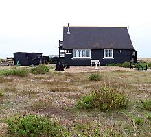 Black Cottage at Dungeness  by hootonles