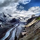 The Pasterze Glacier, Grossglockner, Austria. by Colin Metcalf
