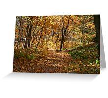 Autumn At Hawthorn Hollow Greeting Card