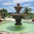 Fountain Outside of Cava Antigua by mltrue