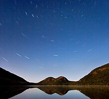 -STARS OVER THE BUBBLES, ACADIA NATIONAL PARK- by Patrick Downey