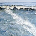 Cornish Wave by Sue Nichol
