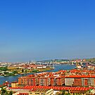 Panorama de Erandio - Bilbao, Basque Country. by DavidGutierrez
