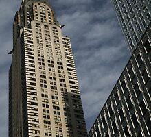 Skyscraper Geometry, Chrysler Building, New York by Jane McDougall
