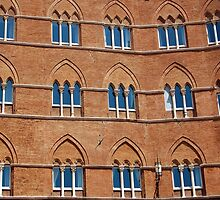 Windows in Siena by Blaz Erzetic