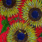 Sunflowers  by Angela Gannicott